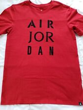 417034bfba8f Nike Air Jordan JSW HBR AJ Stencil T-shirt Men s Medium New with Tags AJ1387