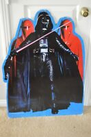 Darth Vader Cut Out Standee Vintage Star Wars 1983 Lucasfilm Cardboard