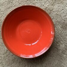 Vtg Metlox Poppytrail Vernon Medallion Red Vegetable Dish