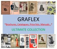GRAFLEX -  COLLECTION CATALOGUE BROCHURE MANUALS PRICE LIST - PDF DOWNLOAD!!!