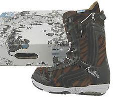 New Burton Emerald Snowboard Boots! Us 6.5 Uk 4.5 Euro 37 Mondo 23.5 *Tiger*