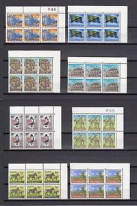 TANZANIA 1965 SG 128/41 MNH Blocks of 6 Cat £150