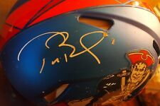 Tom Brady Signed Authentic Full size Speed New England Patriots Helmet Tristar