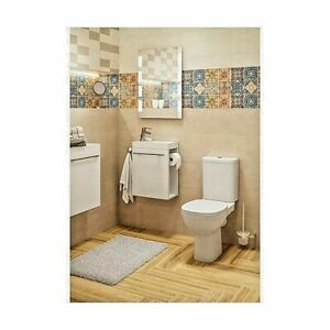 Bathroom mirror with built-in lighting LED