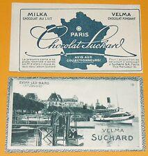 CHROMO PHOTO CHOCOLAT SUCHARD 1928 FRANCE EVIAN-LES-BAINS 74 HAUTE SAVOIE