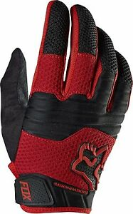 Fox Racing Sidewinder Glove Red