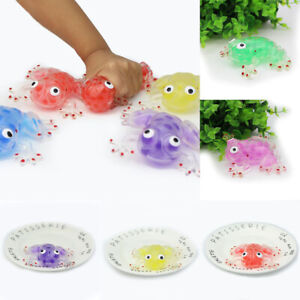 Funny Anti-stress Decompression Splat Frog Sticky Squeeze Stress Relief Toy Gift