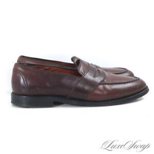 #1 MENSWEAR Allen Edmonds Made in USA Randolph Cigar Shell Cordovan Shoes 8.5 D