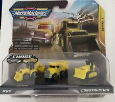 Micro Machines Construction Set #02 with Backhoe, Dump Truck & Bulldozer MOC