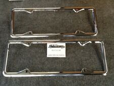 NEW PAIR OF 1920 TO 1928 VINTAGE STYLE CALIFORNIA LICENSE PLATE FRAMES !