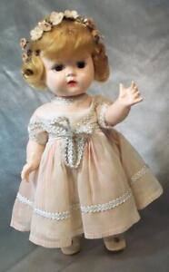 Vintage 1950's LIttle Miss Addie HP Walker All Original Advertising Doll