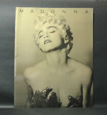 Japan 『Madonna -Who'S That Girl Japan Tour 1987- Concert Pamphlet book�