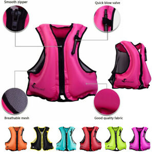 Buoyancy Aid Flotation Vest Adults Kids Life Jackets for Surfing Water Rescue