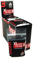 GIZEH BLACK XL Filtro Slim 6mm/20er (FILTER, SIGARETTE FILTRO)
