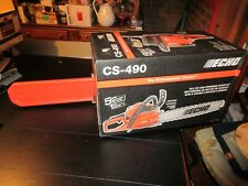 """Echo Cs-490 New in the Box 20 """" Commercial Grade 50.2Cc"""