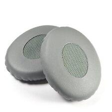 Grey Leather Ear Cushion Kit for Bose On-ear 2 Oe2 / SoundTrue Headphones - Pad