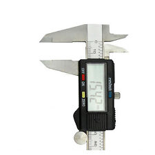 "150mm 6"" Digital Electronic Stainless Steel Vernier Caliper Gauge Micrometer CLP"
