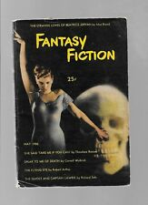 Fantasy Fiction V1#1 May 1950 Sci-Fi Digest Cornell Woolrich Richard Sale VG