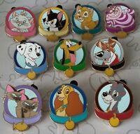Magical Mystery Pins Series 5 Dog and Cat Collars Disney Pin Make a Set Lot