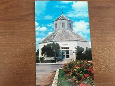 Postcard TX Fredericksburg Coffee Mill Church Vereinskirche Chamber of Commerce