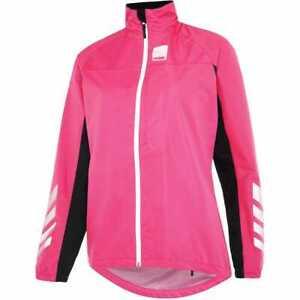 Hump Strobe Womens Waterproof Jacket - Pink Glo -  BNWT UK12