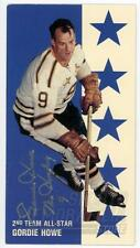 Gordie Howe Red Wings Signed Autographed 1994 Parkhurst All-Star Tall Boy Card