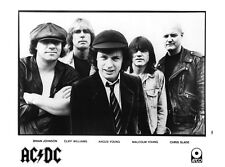 AC/DC-Promo Press Photo 1994-Angus Malcolm Young-Brian Johnson Heavy Metal