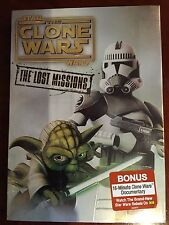 Star Wars: The Clone Wars - The Lost Missions (DVD, 3-Disc Set) Season 6 NEW