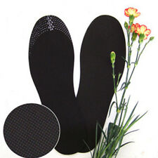 2 pairs Bamboo Charcoal Deodorant Foot Inserts Shoe Pads Insoles Cushion Mat