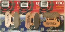 Honda GL1500 Gold Wing (1988 to 2000) EBC Sintered FRONT and REAR Brake Pads