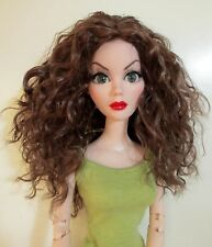 Monique Ellowyne Rose Wig 6/7 for Little Fee Lati Dollzone LARGE fits KID Brown