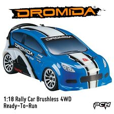 Dromida 1:18 Electric RC Rally Car Brushless 4WD RTR Ready-To-Run DIDC0076