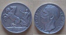 10 lire 1929 xx due rosette
