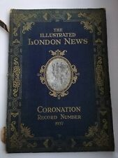 THE ILLUSTRATED LONDON NEWS - CORONATION NUMBER 1937 - BEAUTIFUL COLOURED PLATES