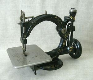 Wilcox & Gibbs Chain Stitch Sewing Machine  /  c.1871
