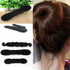 3Pcs Set Hair Fast Bun Magic Foam Sponge Hair Tools Plate Donut Bun Maker Twist