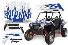 AMR Racing Polaris RZR 900XP Sticker Graphic Kit Decal UTV Parts 11-14 DFLAME U