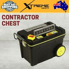 Stanley Professional Mobile Contractor Chest Jobsite Storage Toolbox Organiser