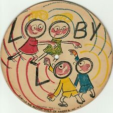 "Children's Picture Disc Record ""Looby Loo"" Around The Village""7"" 78RPM circa 40s"
