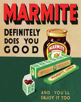 Marmite - Vintage Art Print Poster - A1 A2 A3 A4 A5