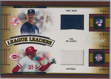 2005 Playoff Prestige Don Mattingly Dave Parker Eddie Murray Dale Murphy Jersey