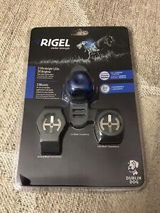 Rigel Stellar Strength Pet Dog Cat LED Safety Collar Night Light Dublin Dog NIP