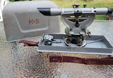 Vintage Keuffel Amp Esser Co Surveying Transit Level In Case