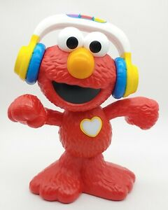 """Sesame Street Lets Dance ELMO: 13"""" toy sings, dances, lights up. Tested, works!"""