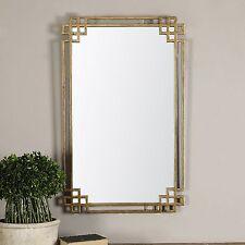 Open Geometric Gold Wall Mirror | Vanity Contemporary Modern
