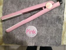 PINK ceramic flat iron adjustable temperatures