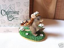 Fitz & Floyd Charming Tails Figure Here Comes the Bride Wedding Shower Gift Mib