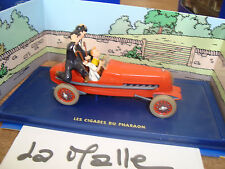 TINTIN LE BOLIDE ROUGE DES CIGARES DU PHARAON  N°02    1/43°