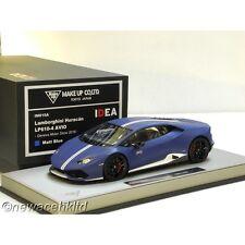 Lamborghini Huracan LP610-4 AVIO 2016 Matt Blue MAKE UP MODEL 1/18 #IM015A