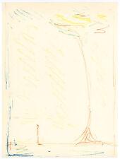 Alberto Giacometti original lithograph   76554342421